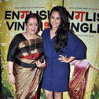 Bollywood Stars at English Vinglish Premiere