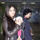 Baby Aaradhya and Aishwarya Rai Bachchan Return From Chicago
