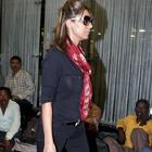 Gauri Snapped at The Airport