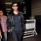 Hrithik and Kangana At Airport While Leaving For Krrish 3 Shoot
