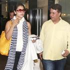 Kajol Snapped At The Mumbai Airport