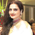 Veteran Actress Rekha In Different Look