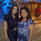 Preity Zinta On The Sets Of Comedy Circus