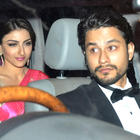 Kunal And Soha At Saif And Kareena Pre-Wedding Dinner Party