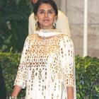 Neetu Clicked At Saifeena Wedding Event