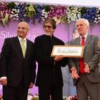 Amitabh Bachchan Inaugurates Mobile Diabetes Detection Van At Mumbai