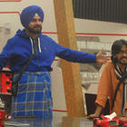 Sidhu The Man In Blue With Aseem In The Bigg Boss House 6
