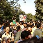 Promotion Of Movie Chakravyuh At Delhi Hindu College