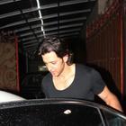 Hrithik Roshan Spotted At Aditya Chopra Residence