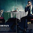 Ajay Devgan Photo Shoot For GQ India Magazine