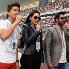 Ajay Devgan And Sonakshi Sinha Attend The F1 Indian Grand Prix