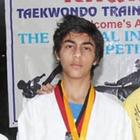 Aryan Khan At National Taekwondo Training