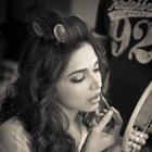 Deepika Padukone On The Sets Of A Photo Shoot