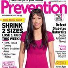 Mary Kom For Prevention Magazine November 2012
