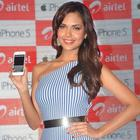 Esha Gupta At IPhone 5 Launch Event