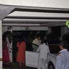 Bachchan Family At Sonali Bendre House To Celebrate Karwa Chauth
