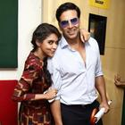 Khiladi 786 Promotional Event At Radio Mirchi 93.5 FM Station