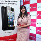 Varalakshmi Stills At Airtel IPhone 5 Launch Event