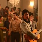 Shahrukh Khan And Katrina Kaif On The Sets Of Lux Commercial