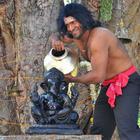Puneet Rajkumar Different Worship Photo From Yaare Koogadali Movie