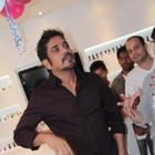 Nagarjuna Launches B-Blunt Salon