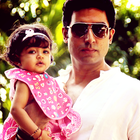 Aaradhya With Parents On Her First Birthday