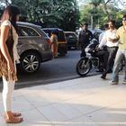 Chennai Express Co-Stars Spotted At The Mumbai Airport