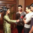 Team Talaash Addressing Crime Reporters In Delhi