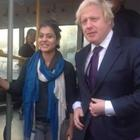 Kajol With Boris Johnson The Mayor Of London Photo Stills