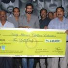 Krishnam Vande Jagadgurum Team Donate 2 Laks To NICE Trust Pictures
