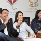 Dutt Family Spotted At Charitable Event By Nargis Dutt Foundation