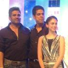 Suniel Shetty And Aditi Rao Hydari At Bright Awards 2012