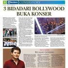Shahrukh Khan On Indonesian Journal Tribun Jakarta Magazine