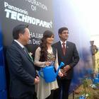 Dia Mirza At The PanasonicIndia Technopark Launch