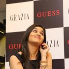 Alia Bhatt At Launch Of Grazia Magazine Party