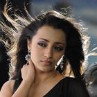 Actress Trisha Latest Photo Shoot In Black Saree