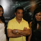 Kamal,Pooja And Andrea Posed At Vishwaroopam Press Conference