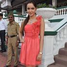 Shazahn Padamsee At Gitanjali Indian 1000 Guineas Race 2012