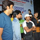 Srikanth,Naveen And Tarun At CCl Practice Match