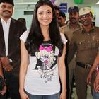 Kajal Agarwal At Impact Christmas Celebrations