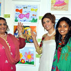 Celebs at Poonam Salechas Painting Exhibition