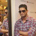Prateik ,Sarah Jane Dias and Shazahn at Tommy H Store Opening