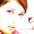 Madhuri Dixit Red Eyes Look Wallpaper