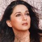 Madhuri Dixit Romancing Look Wallpaper