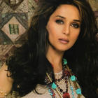 Madhuri Dixit Smoky Eyes Look Wallpaper