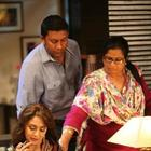 Madhuri Dixit Nene On The Sets Of A TV Show For Life OK Channel