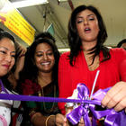 Sushmita Sen Unveils the Naturals Unisex Salons Outlet at Delhi