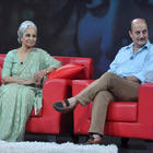 Waheeda Rehman Anupam Kher and Anu Malik on Raveena's NDTV Chat Show