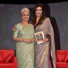 Waheeda Rehman,Raveena Tandon at NDTV Chat Show
