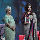 Waheeda Rehman,Raveena Tandon on Raveena's NDTV Chat Show